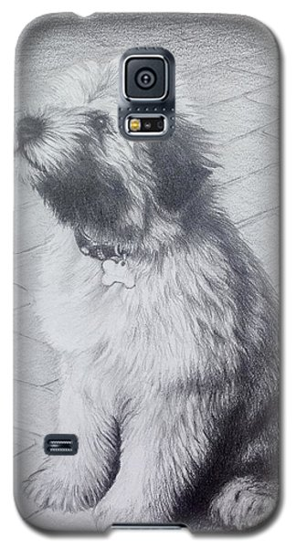 Patsy's Puppy Galaxy S5 Case by Mike Ivey