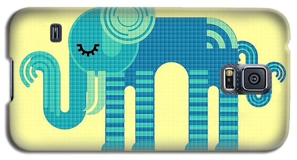 Pattern Elephant Galaxy S5 Case