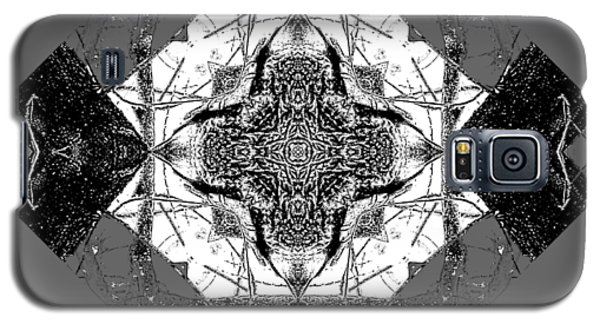 Pattern In Black White Galaxy S5 Case