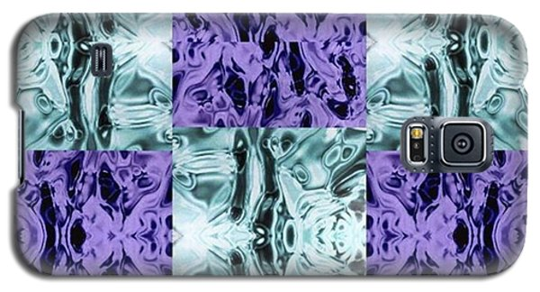 Galaxy S5 Case - Ultra Violet  And Water  by Naomi Ibuki
