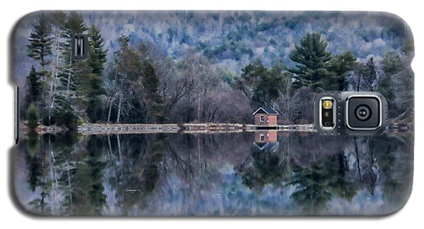 Patterns And Reflections At The Lake Galaxy S5 Case