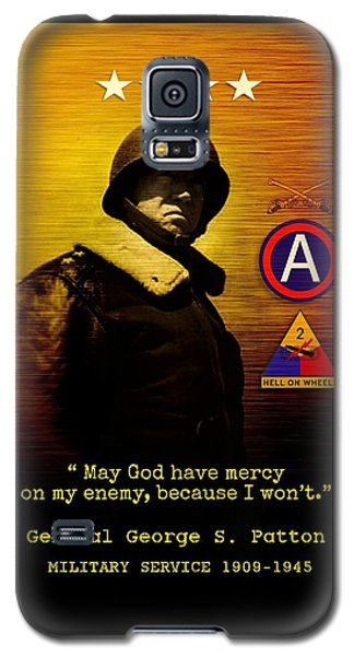 Patton Tribute Galaxy S5 Case by John Wills