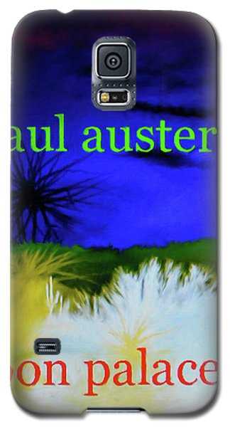 Paul Auster Poster Moon Palace Galaxy S5 Case