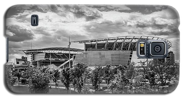 Paul Brown Stadium Black And White Galaxy S5 Case by Scott Meyer