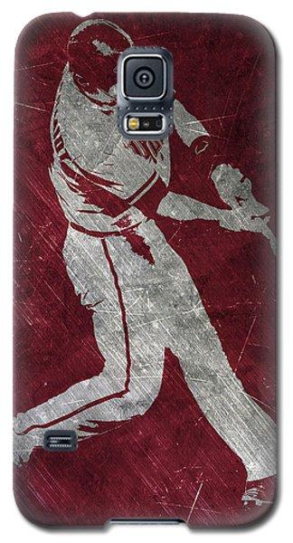 Paul Goldschmidt Arizona Diamondbacks Art Galaxy S5 Case by Joe Hamilton