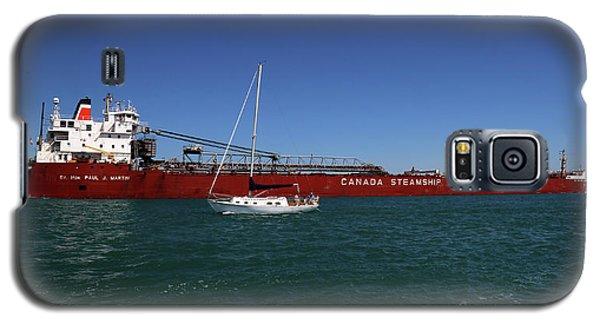Paul J. Martin And Sailboat Galaxy S5 Case