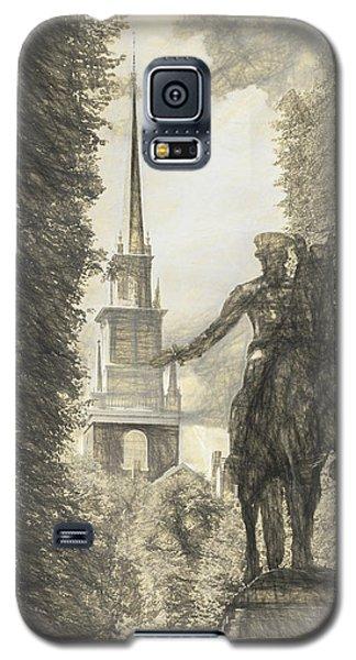 Paul Revere Rides Sketch Galaxy S5 Case