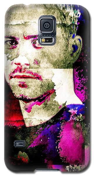Galaxy S5 Case featuring the mixed media Paul Walker by Svelby Art