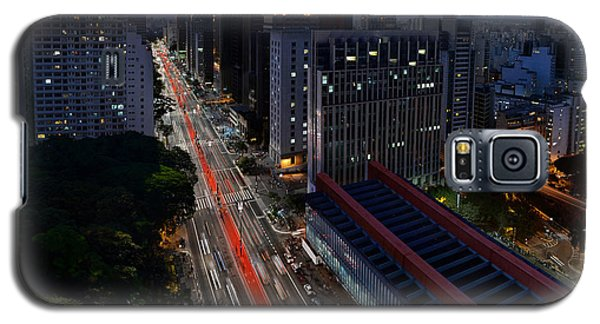 Paulista Avenue And Masp At Dusk - Sao Paulo - Brazil Galaxy S5 Case
