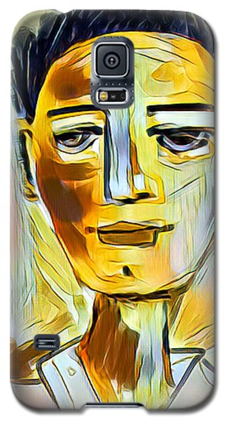 Pauls Portrait Galaxy S5 Case by Elaine Lanoue