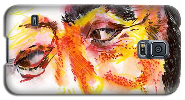 Pavarotti Sketch No. 1 Galaxy S5 Case