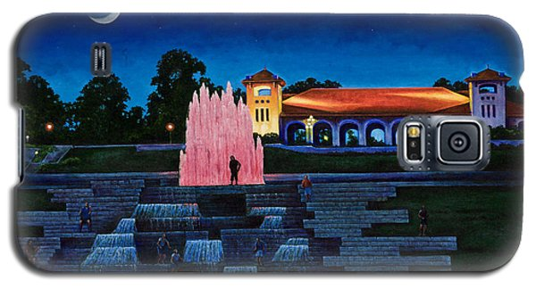Pavilion Fountains Galaxy S5 Case by Michael Frank