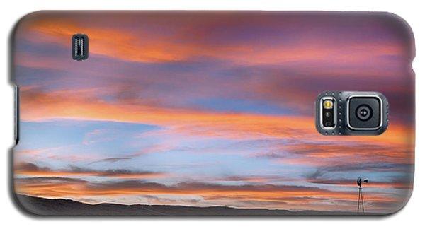 Pawnee Sunset Galaxy S5 Case by Monte Stevens