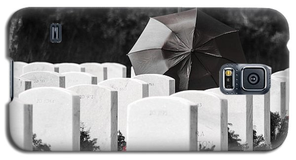 Paying Her Respects Galaxy S5 Case
