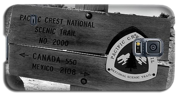 Pct Scenic Trail Galaxy S5 Case by David Lee Thompson
