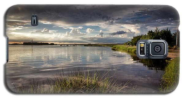 Peace Along The Cape Fear Galaxy S5 Case by Phil Mancuso