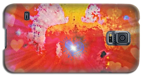 Peace And Love Meditation Galaxy S5 Case