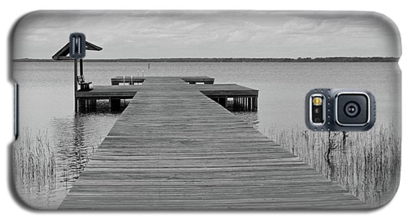Peace And Serenity II-black And White Galaxy S5 Case