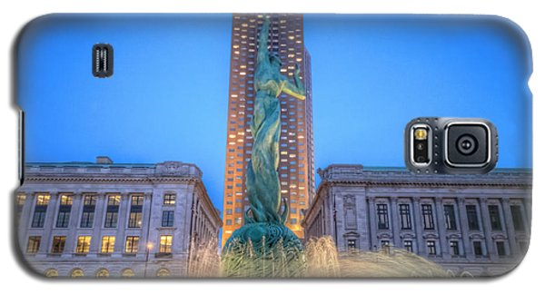 Galaxy S5 Case featuring the photograph Peace Arising From The Flames Of War by Brent Durken