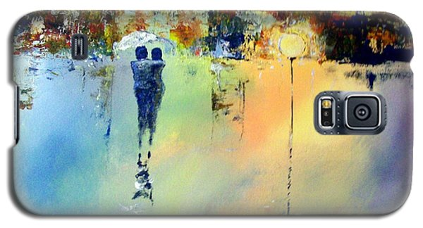 Galaxy S5 Case featuring the painting Peace At Twilight by Raymond Doward