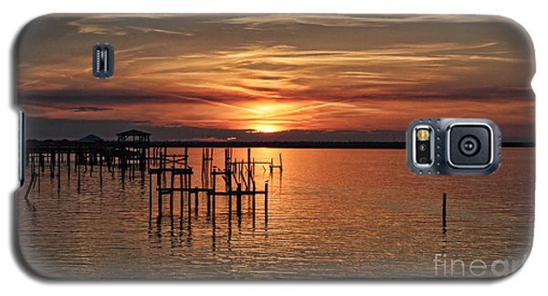 Peace Be With You Sunset Galaxy S5 Case