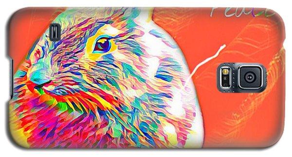 Peace Bunny Galaxy S5 Case