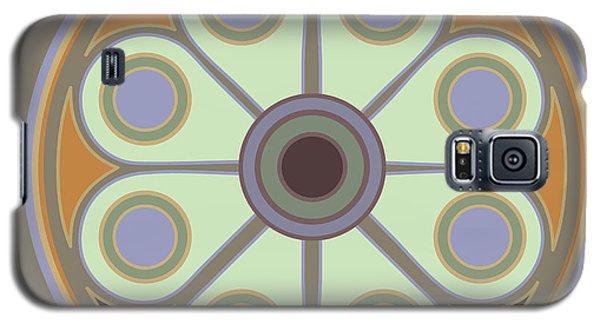 Peace Flower Circle Galaxy S5 Case
