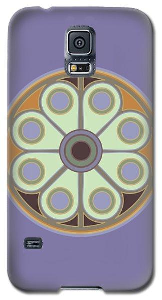 Peace Flower Galaxy S5 Case
