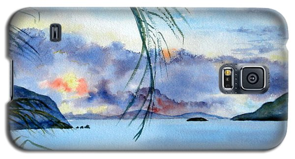 Peace In The Caribbean Galaxy S5 Case