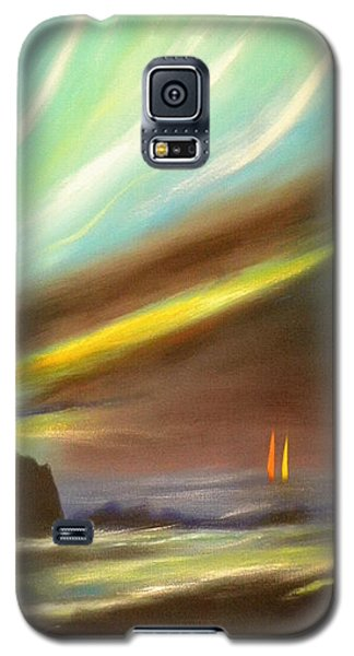 Peace Is Colorful - Vertical Painting Galaxy S5 Case