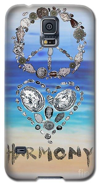 Peace Love Harmony Galaxy S5 Case