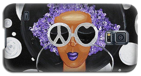 Peace, Love, Polka Dots Galaxy S5 Case