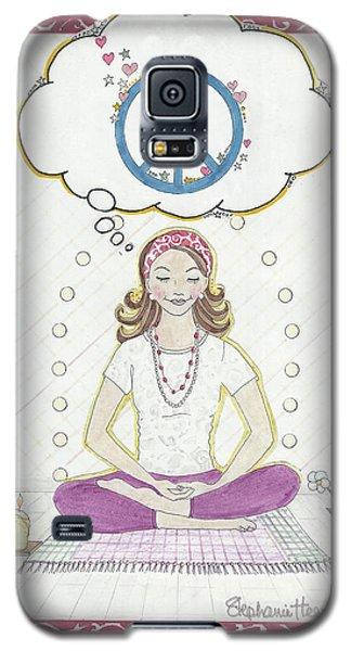 Peace Meditation Galaxy S5 Case