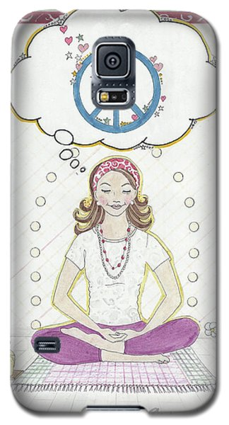 Peace Meditation Galaxy S5 Case