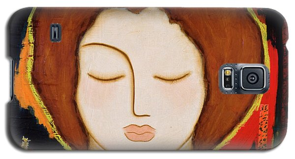 Galaxy S5 Case featuring the painting Peace Messenger by Gloria Rothrock