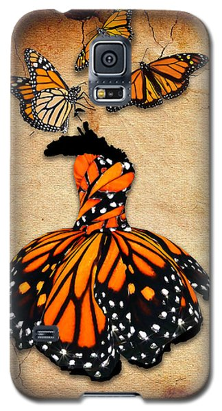 Galaxy S5 Case featuring the mixed media Peace Of Mind by Marvin Blaine