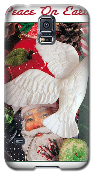 Peace On Earth Galaxy S5 Case