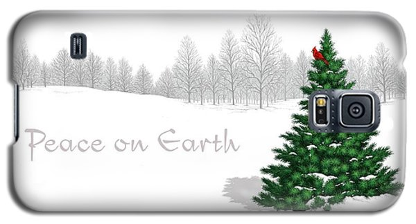 Peace On Earth Galaxy S5 Case