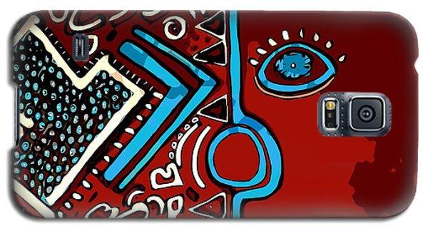 Peace Pipe Galaxy S5 Case