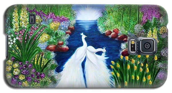 Galaxy S5 Case featuring the painting Peace by Saranya Haridasan