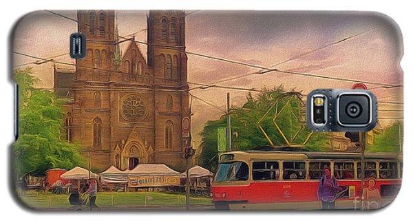 Peace Square Prague Galaxy S5 Case