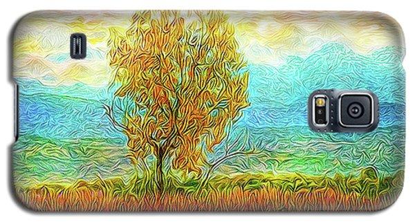 Peace Tree Sunset Galaxy S5 Case