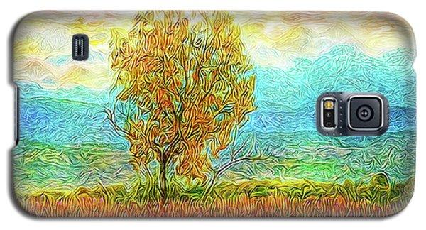 Peace Tree Sunset Galaxy S5 Case by Joel Bruce Wallach
