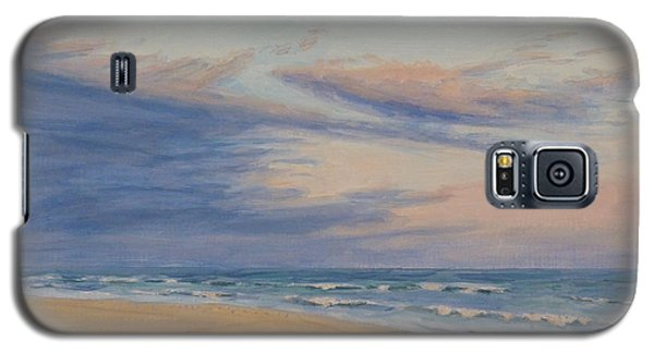 Galaxy S5 Case featuring the painting Peaceful by Joe Bergholm