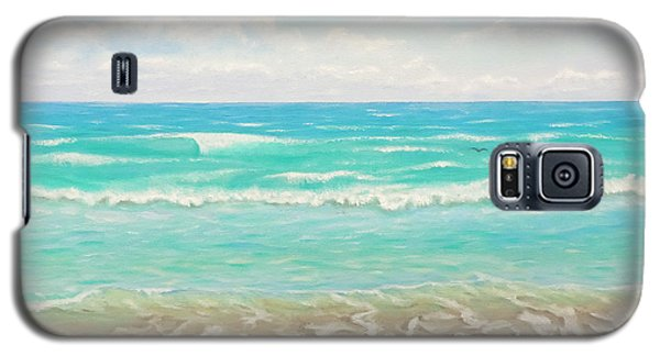 Peaceful Beach Galaxy S5 Case