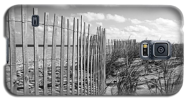 Galaxy S5 Case featuring the photograph Peaceful Beach Scene by Denise Pohl