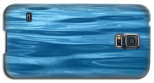 Peaceful Blue Galaxy S5 Case