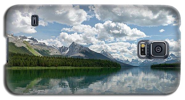 Peaceful Maligne Lake Galaxy S5 Case by Sebastien Coursol