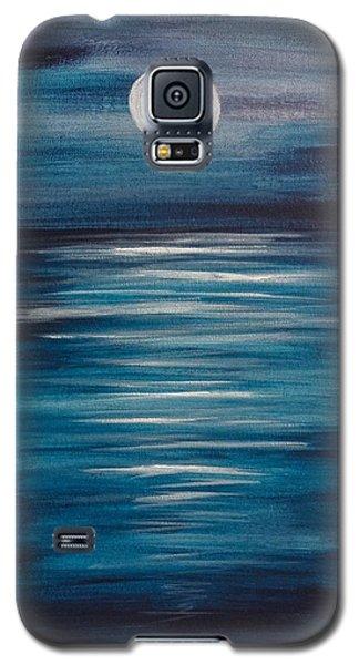 Peaceful Moon At Sea Galaxy S5 Case