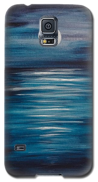 Peaceful Moon At Sea Galaxy S5 Case